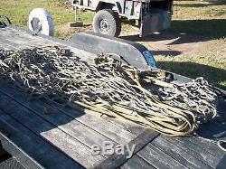 Military Surplus Cargo Net Netting Sling Truck Trailer Cargo Army Playground Us