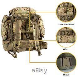 Military Surplus FILBE Rucksack Army Tactical Backpack Main Pack Multicam