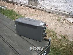 Military Surplus Field Kitchen Water Pump Works With Mbu Power Unit 24v Us Army
