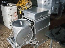 Military Surplus Kitchen M59 Field Range Stove Oven Pots Pans Army. No Burner