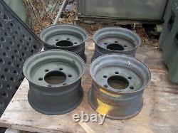 Military Surplus M1061 Trailer Tire Rim M796 Bolster WHEEL 16.5 Inch Tire -ARMY