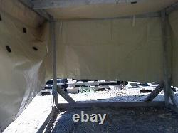 Military Surplus M1101 Cargo Trailer Cover 12470989-3 Truck Tan Army Us V-good