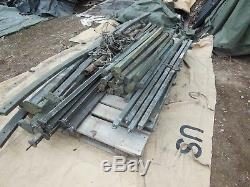 Military Surplus Magnesium Maintenance Tent Frame Parts Not Complete Army