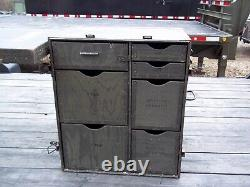 Military Surplus Portable Wood Field Desk- Or- Kids Desk- No Stool Seat-army