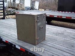 Military Surplus Portable Wood Field Desk- Or- Kids Desk-no Seat-poor Shape-army