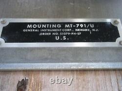 Military Surplus Radio Mount Mt-791-u Truck Trailer Us Army
