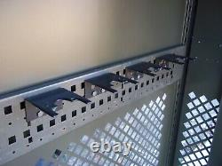 Military Surplus Space Saver Weapons Rifle Pistol Rack Cabinet Safe Gun Army