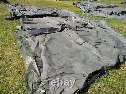 Military Surplus Temper Tent. End. Section Hunting. Not Complete Tent. Army
