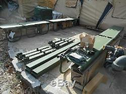 Military Surplus Truck Troop Seats Fmtv Mtv M1083 Communication Mount Kit Army