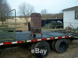 Military Ww2 Barracks Stove Heater Dated 1942 World War 2 Era -tent -cabin Army