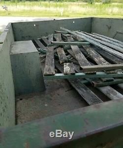 Military trailer, M105A2,1 1/2 ton, Army surplus