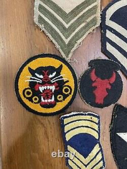 Mixed Lot Vintage Military Patches Army Navy Airborne Civilian U. S World Army