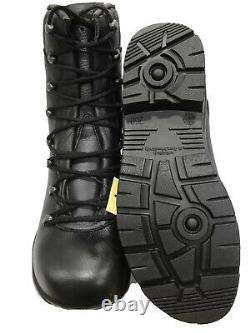 NEW German Army Para Boots Genuine Military Surplus Combat Leather Black