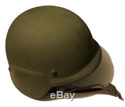 NEW LARGE USGI US ARMY MILITARY SURPLUS PASGT BALLISTIC HELMET WITH Kevlar