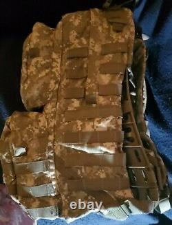 NEW US Army ACU MOLLE Medium Rucksack With Frame Military Backpack