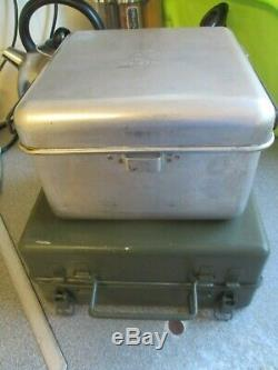 NOS British Army Diesel Cooker Stove Camping Fishing Military Surplus MOD POT
