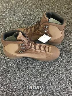 New Aku Military Mens Brown Combat High Liability Boots Size 11 Gortex