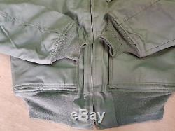 New NOMEX MA2 Sage Green CWU-45P Cold Weather Flyers Jacket Military Issue Small