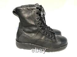 New Us Navy Military Usaf Army Usmc Flight Deck Safety Boots Leather Men's 10.5r