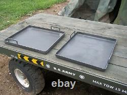 One. Military Surplus Field Kitchen Mbu Burner Griddle Mkt Griddle Only Army
