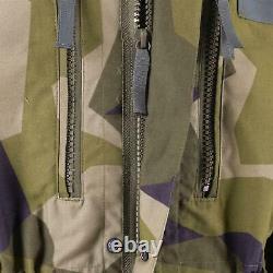Original Swedish Army Heavy Jacket M90 Splinter Camo Field Troops Military New