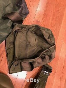PASGT Kelvar Combat Helmet US Army USMC USAF Military Surplus Gear Gas Mask