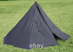 POLISH BLUE ARMY NOS MILITARY LAAVU TENT 2 PERSON Teepee Size 2 + STORAGE BAG