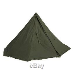 POLISH GREEN ARMY MILITARY LAAVU TENT Shelter for 2 PERSON Teepee Coat (Size 3)