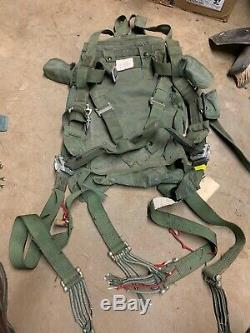 Parachute harness Main Chute Army Issue Military Issue Used Looks Complete