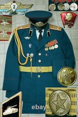 Parade Uniform LIEUTENANT COLONEL TANK TROOPS Soviet Russian Army USSR Military