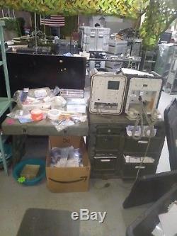 Pelican Hardigg Portable Military Field Desk USGI Army Table USA 472-FLD-DESK-TA