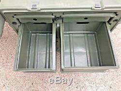 Pelican Hardigg Portable Military Field Desk Usgi Army Table Hmmwv