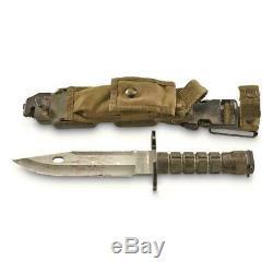 Phrobis M9 Bayonet with Sheath U. S. Military Surplus Army Issue Collectible Hunt