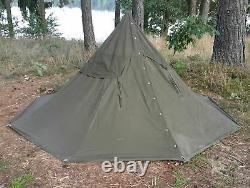 Polish Army Military TENT Set x2 Person Vintage Half Poncho Shelter Tarp Size3