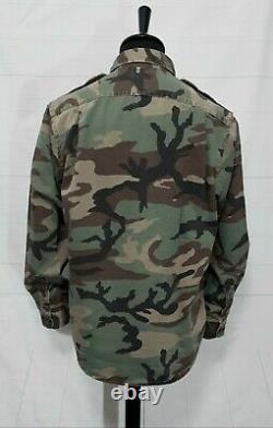 Polo Ralph Lauren classic fit military surplus camo overshirt shirt M 40-42