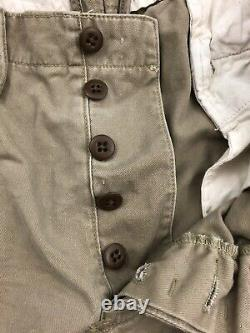 Polo by Ralph Lauren Military Multi Pocket Army Cargo surplus Pants Size 36