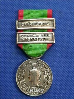 Portugal Rare Military WWI Silver Medal Order Campaigns of the Portuguese Army