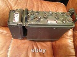 Prc-77 Prc-25 Military Radio Of Frech Army Receiver Transmitter Er. 95. B