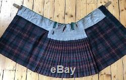 Pre-WW1 34 British Army Queens Own Cameron Highlanders Scottish military kilt