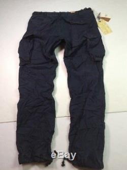 RRL Ralph Lauren Men Type D-2 Military US Army Combat Surplus Cargo Crispy Pants