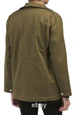Rag & bone M8 Women's Jacket XS Army Military Green Utility Coat $450