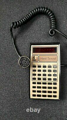 Rare Military Radio Data Hand Portable Pocket Terminal Gr Electronic Code Covert