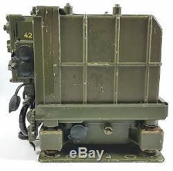 Rare Sem25 Vehicular Military Radio Transceiver German Army Nato Unimog Receiver