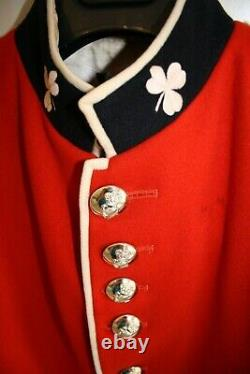 Red Scarlet Irish Guards Military Jacket Tunic 40 inch Chest British Army