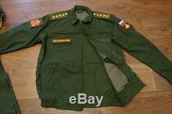 Russian army Military office uniform 4 stars General land-forces 54/6
