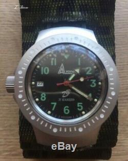 Russian original Ratnik watch 6e4-2 military watch VKBO, Russian army watch New