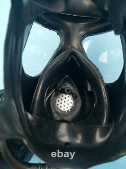 SERBIA Army Military Modern Protective Mask with 40mm Filter -Large