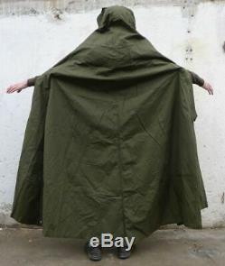 Set 2 Unused Military Polish Army Poncho or 1 Tent. BIGGEST SIZE 3. Lavvu 1970's