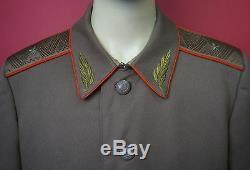 Soviet Army General FIELD TUNIC Jacket 1972 Model USSR Uniform Afghan War LARGE