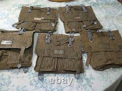 Sturm LOT OF 7 Vintage German Military Raindrop Camo Army Pack Field Gear